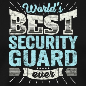TOP Sikkerhet: Best Security Guard Ever - Premium T-skjorte for menn