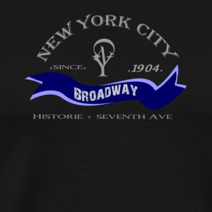 "New York City ""Broadway"" - Premium-T-shirt herr"