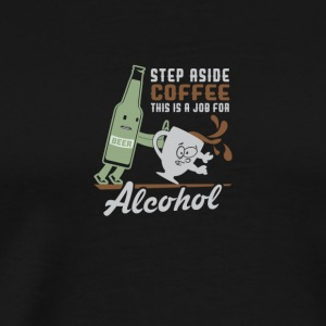 coffee/alcohol - Männer Premium T-Shirt