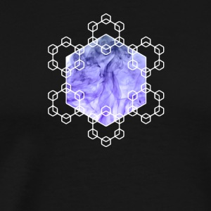 Geometry Chemistry Model Nerd Game pc CPU illuminat - Men's Premium T-Shirt