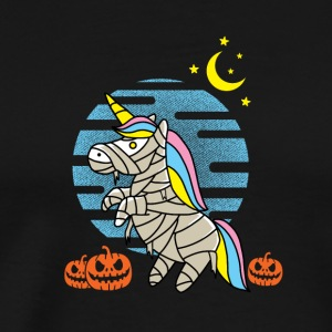 Unicorn Halloween - Mannen Premium T-shirt