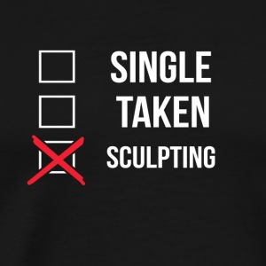 Single Taken Sculpting - Premium-T-shirt herr