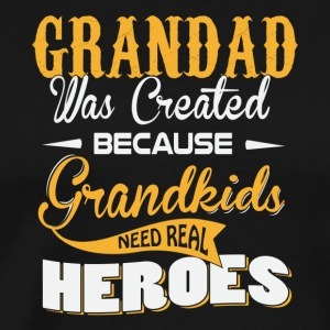 Grandad hero - Men's Premium T-Shirt