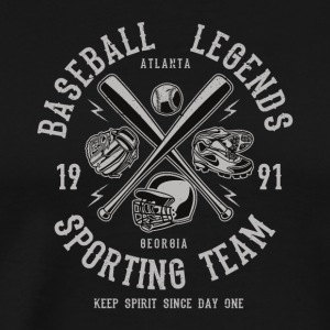 Baseball Legends Sporting Team Spirit Sports Shirt - Men's Premium T-Shirt