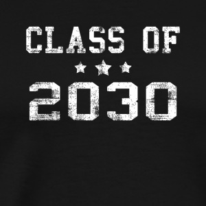 Class of 2030 schooling start of school shirt - Men's Premium T-Shirt