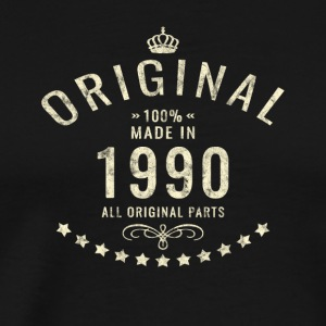 Vintage used original made in 1990 Bday gift - Men's Premium T-Shirt