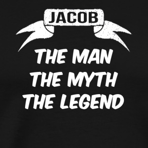jacob the man the myth the legend - Männer Premium T-Shirt