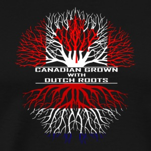 Canada Holland flag gave Vancouver Amsterdam - Herre premium T-shirt