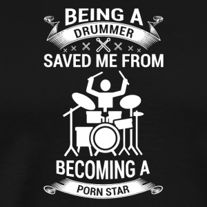 Gift for drummers, drummers - Men's Premium T-Shirt