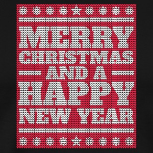 Merry Christmas And A Happy New Year - Männer Premium T-Shirt