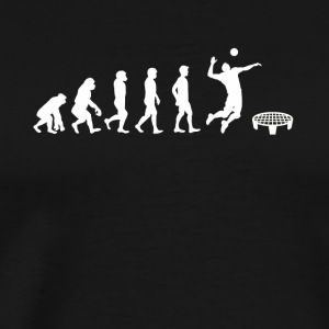 Evolution of Roundnet - Men's Premium T-Shirt