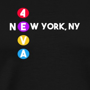 NEW YORK T-shirt Subway New York gift - Men's Premium T-Shirt