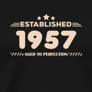 Gift for 60 year olds, 60th birthday, 1957 - Men's Premium T-Shirt