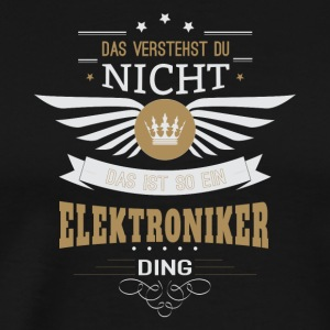 Electronics engineer gift for birthday - Men's Premium T-Shirt