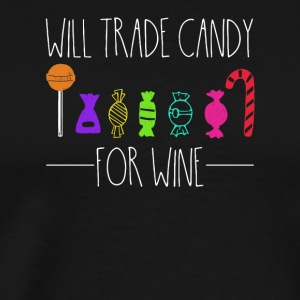 Exchange sweets for wine - Men's Premium T-Shirt