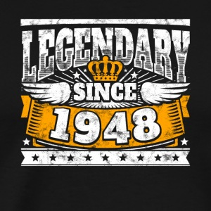 Legendary since 1948 Legend Birthday year of birth - Men's Premium T-Shirt