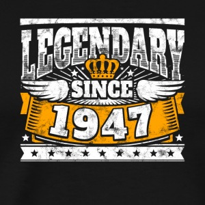 Legendary since 1947 Legend Birthday year of birth - Men's Premium T-Shirt