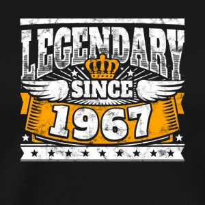 Legendary since 1967 Legend Birthday year of birth - Men's Premium T-Shirt