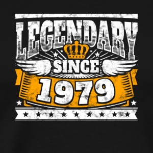 Legendary since 1979 Legend Birthday year of birth - Men's Premium T-Shirt