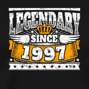 Legendary since 1997 Legend Birthday year of birth - Men's Premium T-Shirt