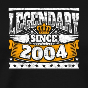 Legendary since 2004 Legend Birthday year of birth - Men's Premium T-Shirt