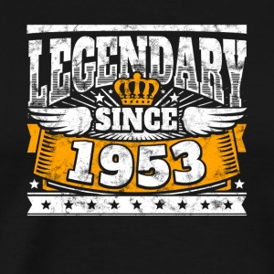 Legendary since 1953 Legend Birthday year of birth - Men's Premium T-Shirt