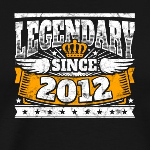 Legendary since 2012 Legend Birthday year of birth - Men's Premium T-Shirt