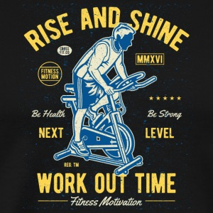 Work Out Time - Herre premium T-shirt