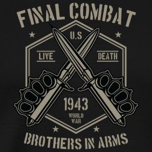 Combat Weapons Weapon Knife Christmas Gift ne - Men's Premium T-Shirt