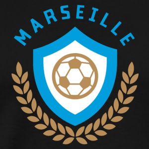 Marseille Football - Mannen Premium T-shirt