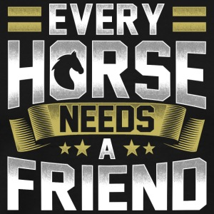 Each horse needs a friend - Men's Premium T-Shirt