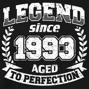 LEGEND VINTAGE depuis 1993 Mûr à point - T-shirt Premium Homme