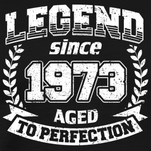 LEGEND VINTAGE depuis 1973 Mûr à point - T-shirt Premium Homme