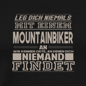 mountainbiker - Herre premium T-shirt