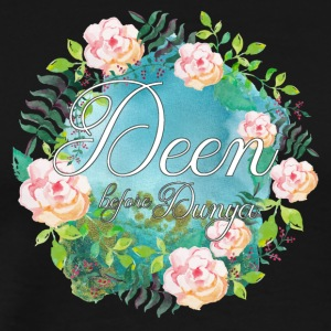 Deen before Dunya - Men's Premium T-Shirt
