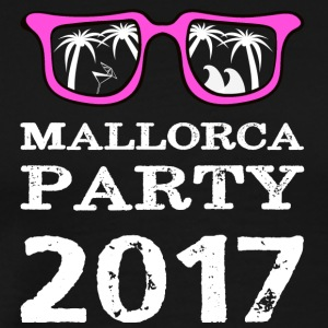 MALLE PARTY MALLORCA SUNGLASSES SKIRT PINK - Men's Premium T-Shirt