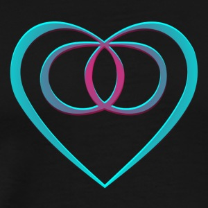 Eternal Love Symbol - Men's Premium T-Shirt