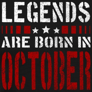 LEGENDS ARE BORN IN OCTOBER BIRTHDAY CHRISTMAS SHI - Männer Premium T-Shirt