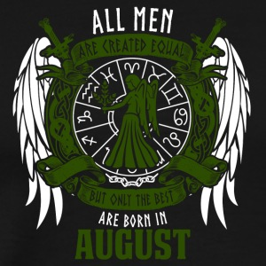 All men are equal zodiac birthday - Men's Premium T-Shirt