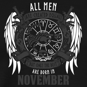all men are scorpio star sign birthday - Men's Premium T-Shirt