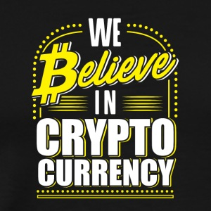 Krypto VALUTA / BTC / Bitcoin - Herre premium T-shirt
