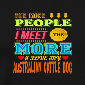 Australian Cattle Dog - Männer Premium T-Shirt
