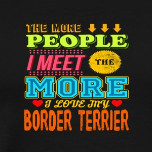 Border Terrier - Men's Premium T-Shirt