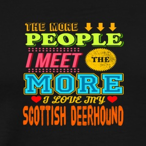 Scottish Deerhound - Männer Premium T-Shirt