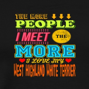 West Highland White Terrier - T-shirt Premium Homme
