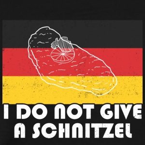 I do not give a schnitzel t-shirt - Men's Premium T-Shirt