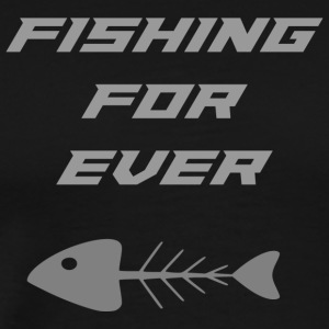 fishing fur ever - Men's Premium T-Shirt