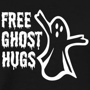 Halloween Shirt Ghost Hugs Funny Zombie Ghosts - Men's Premium T-Shirt