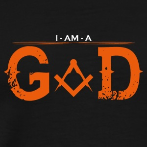 I AM GOD the architect - Men's Premium T-Shirt