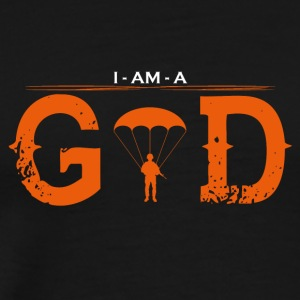 I AM GOD the legend soldatbund - Men's Premium T-Shirt